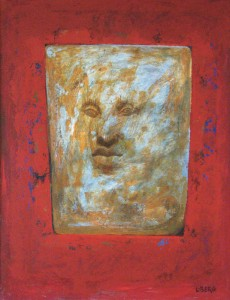 Ursprung, akrylmålning 2013